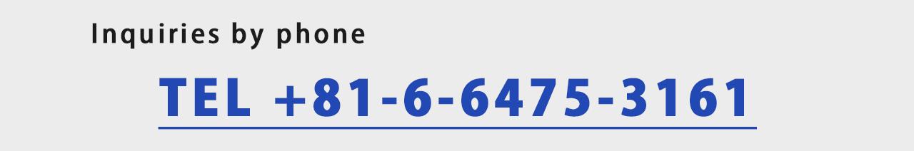 TEL +81-6-6475-3161