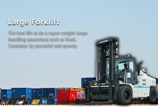 Large Forklift