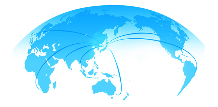 世界各地へフォークリフトを輸出しております
